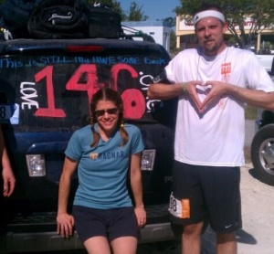We have been part of 2 200 mile relay races where we fundraised for Love 146, an abolitionist group we love.
