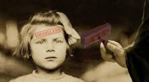 homeless child stamp
