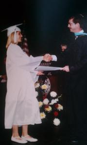 high school graduation